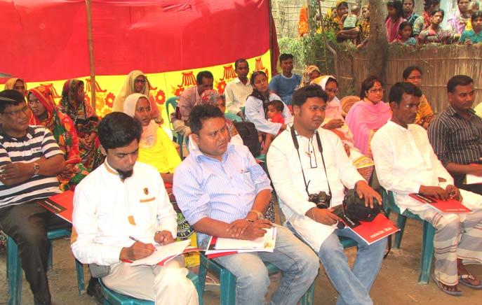 ২৭ এপ্রিল ২০১৬ স্বাস্থ্য আন্দোলনের মতবিনিময় সভা চিলমারী