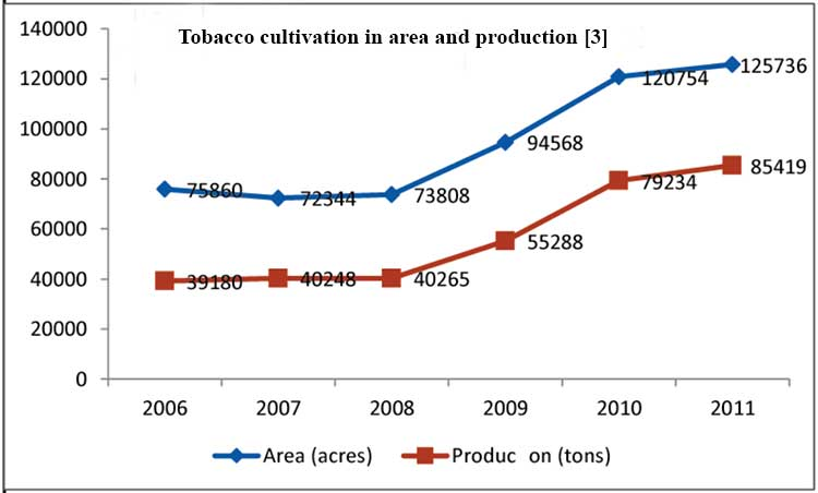 BANGLADESH Tobacco Farming: A threat to food security