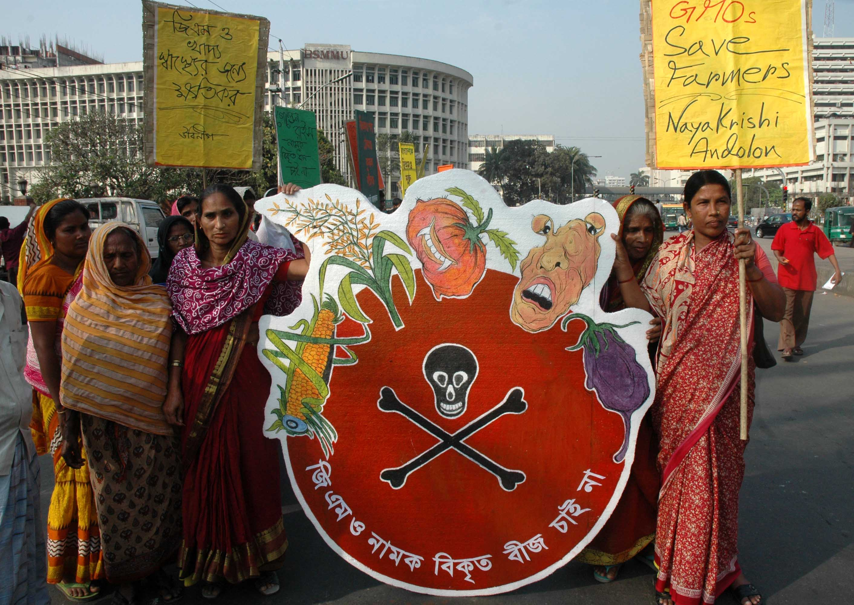 Women against GMOs