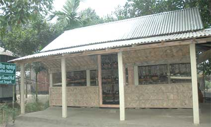 seed huts