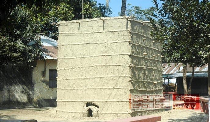 তামাক পোড়ানো ঘর